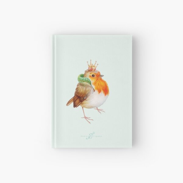 Royal robin by Maria Tiqwah Hardcover Journal