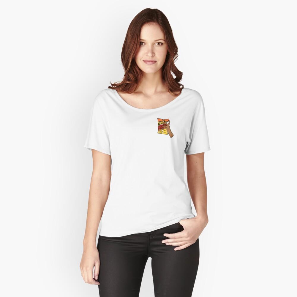 Flammende heiße Cheetos Loose Fit T-Shirt
