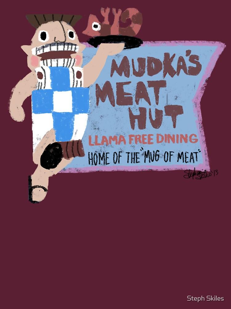Mudka's Meat Hut by geekminimal