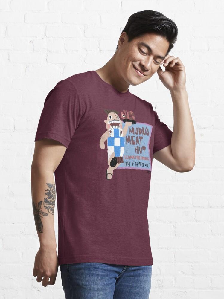 Alternate view of Mudka's Meat Hut Essential T-Shirt