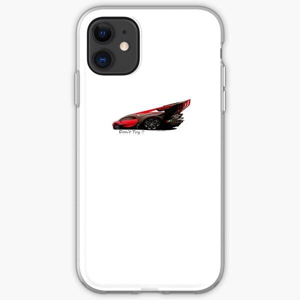 Extreme Excessive Car Art  iPhone Soft Case