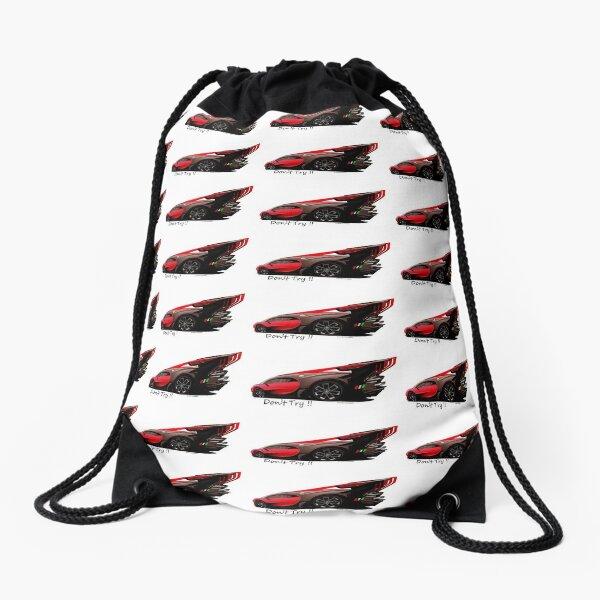 Extreme Excessive Car Art  Drawstring Bag