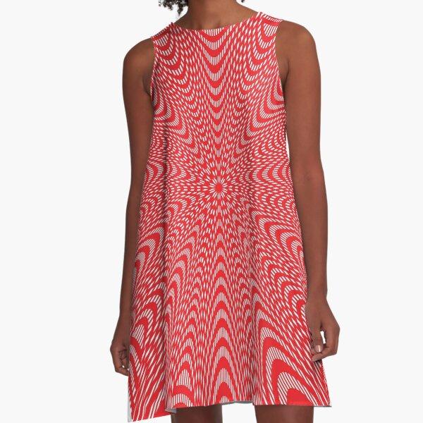 Pattern, design, tracery, weave, decoration, motif, marking, ornament, ornamentation, #pattern, #design, #tracery, #weave, #decoration, #motif, #marking, #ornament, #ornamentation A-Line Dress