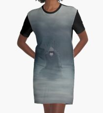 Hunted Graphic T-Shirt Dress