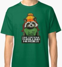 Raccoon finds Serenity Classic T-Shirt