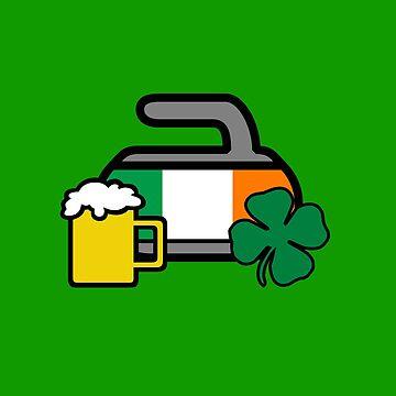 Irish On The Rocks! - Curling Rockers by bubgum