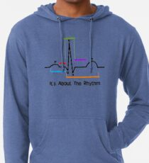 Herz-ST-Segment-Rhythmus Leichter Hoodie