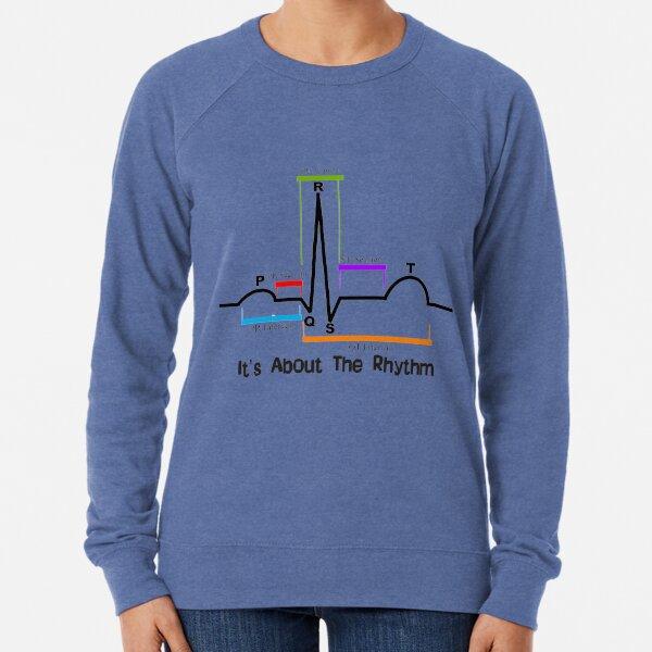 Cardiac ST Segment Rhythm Lightweight Sweatshirt