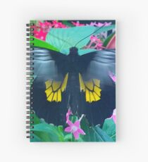 """Fluttering Beauty"", Photo / Digital Painting Spiral Notebook"