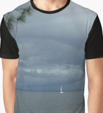 Storm on St. Andrews Bay Graphic T-Shirt