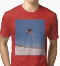 Butterfly Kite and Dunes Tri-blend T-Shirt