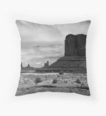 West Mitten Throw Pillow