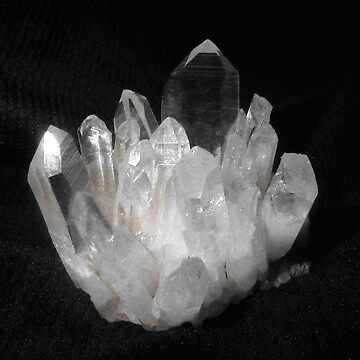 Quartz Crystals by MayLattanzio