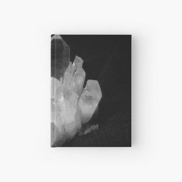 Quartz Crystals Hardcover Journal