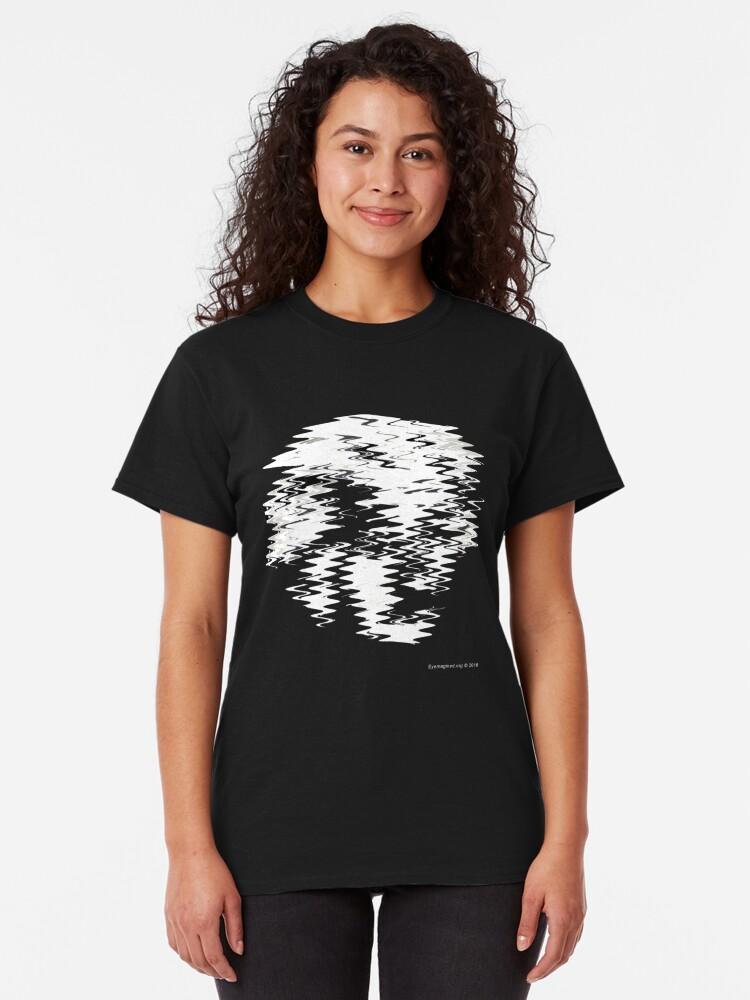 Alternate view of Einstein Waves Classic T-Shirt