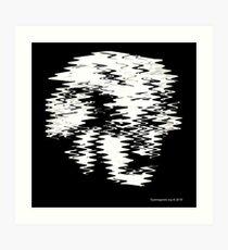 Einstein Waves Art Print
