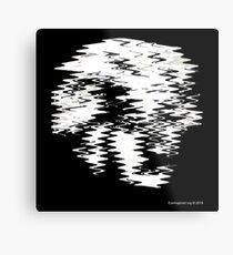 Einstein Waves Metal Print