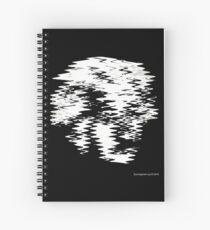 Einstein Waves Spiral Notebook