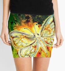 Giving Thanks - Butterfly Mini Skirt