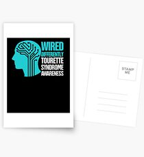 Wired - Tourette Syndrome Awareness Gift Postcards