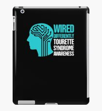 Wired - Tourette Syndrome Awareness Gift iPad Case/Skin