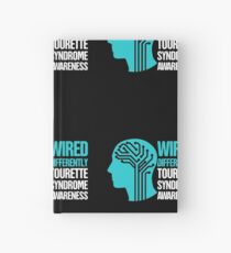 Wired - Tourette Syndrome Awareness Gift Hardcover Journal
