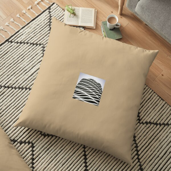 Organic II - Architectural Collection Floor Pillow
