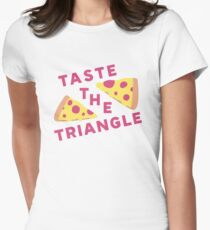 Taste The Triangle Women's Fitted T-Shirt