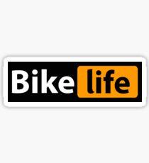 Bike Life Hub Logo Sticker