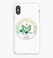 State of Love and Trust iPhone Case/Skin