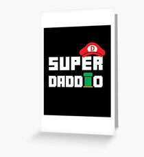 Super Daddio - Funny Gift for Dad Greeting Card