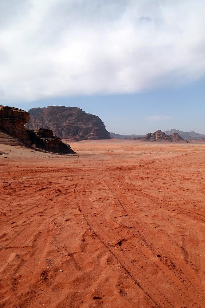 Wadi Rum, Jordan by Julie Waller