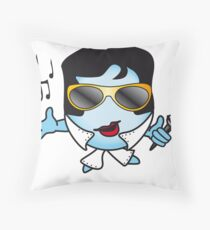 Elvis Ball Throw Pillow