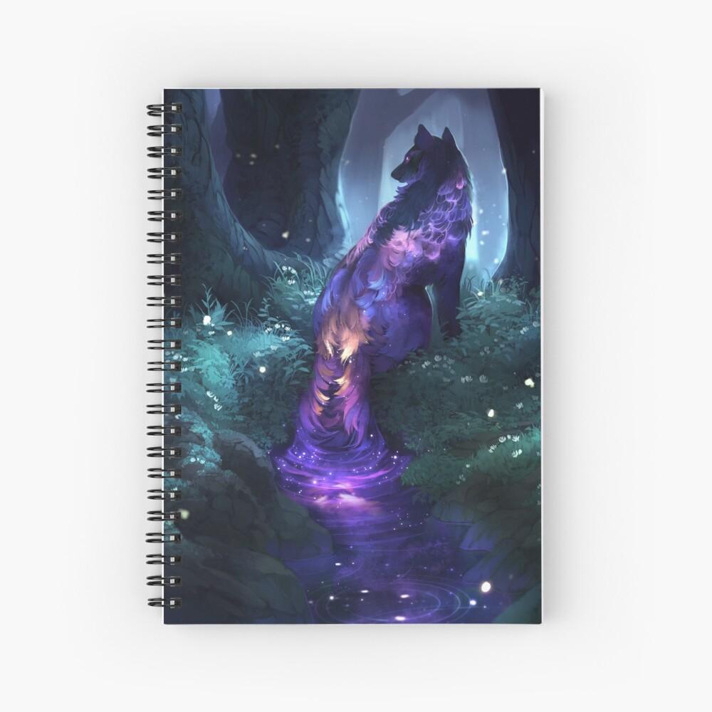 luminous Spiral Notebook