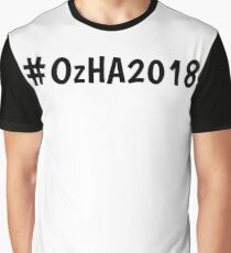 #OzHA2018 Graphic T-Shirt