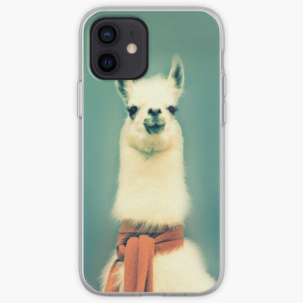 Llama Funda blanda para iPhone