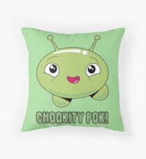 Mooncake Chookity Throw Pillow