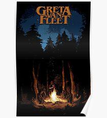 The Light Of Greta Van Fleet Poster