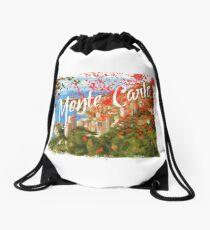Monte Carlo- Io uccido cover Drawstring Bag