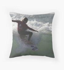 Surfing Currarong  #1 Throw Pillow