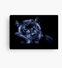 Midnight Panther Canvas Print
