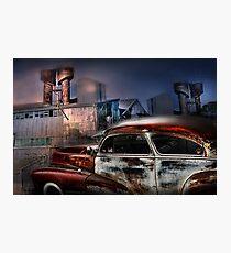 Refinery Photographic Print