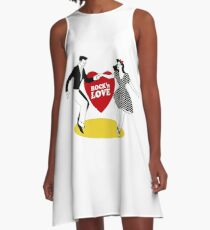 Rock N Roll Love A-Line Dress