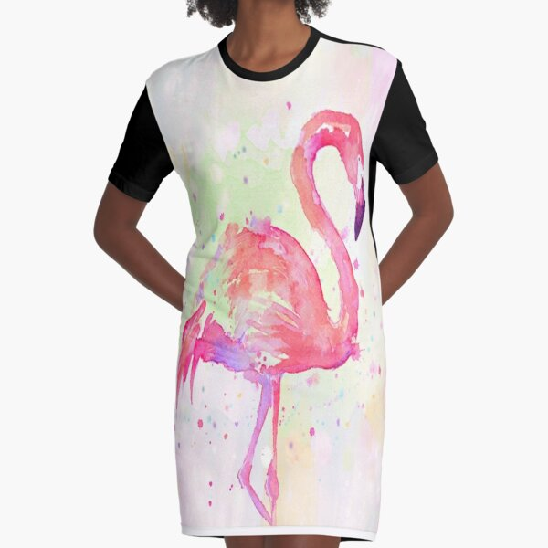 Be Unique and Stand Tall Graphic T-Shirt Dress