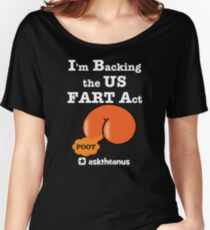 The US Fair and Reciprocal Tariff (FART) Act Women's Relaxed Fit T-Shirt