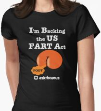 The US Fair and Reciprocal Tariff (FART) Act Women's Fitted T-Shirt