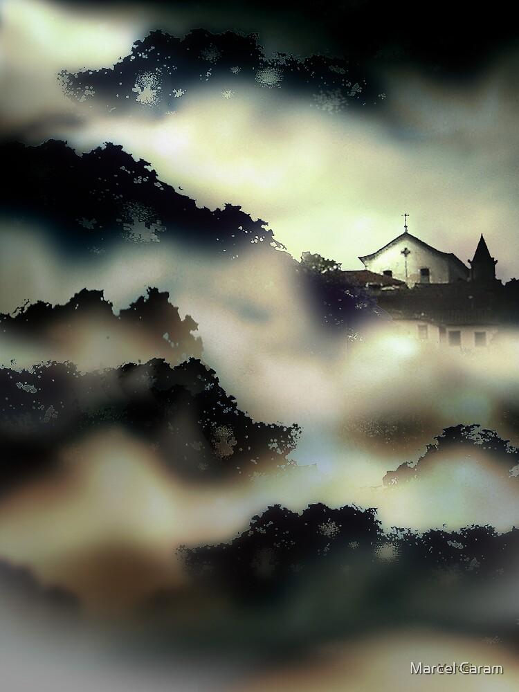 Paisagem com igreja by Marcel Caram