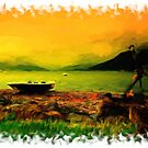 Sunset Over Holy Loch by Focal-Art