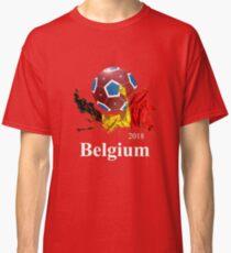 Belgium Soccer Team 2018 Football Fan T-Shirt Classic T-Shirt a3ea04dfb