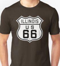 Illinois Route 66 T-Shirt